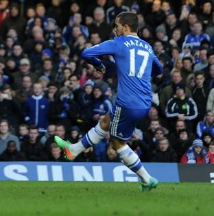 Eden Hazard netted his first Premier League hat-trick against Newcastle