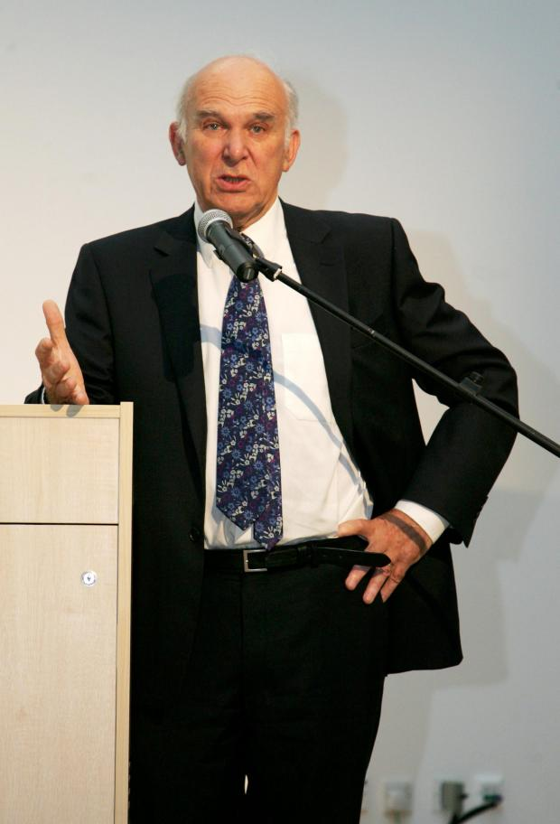 Richmond and Twickenham Times: Safe standing: Vince Cable