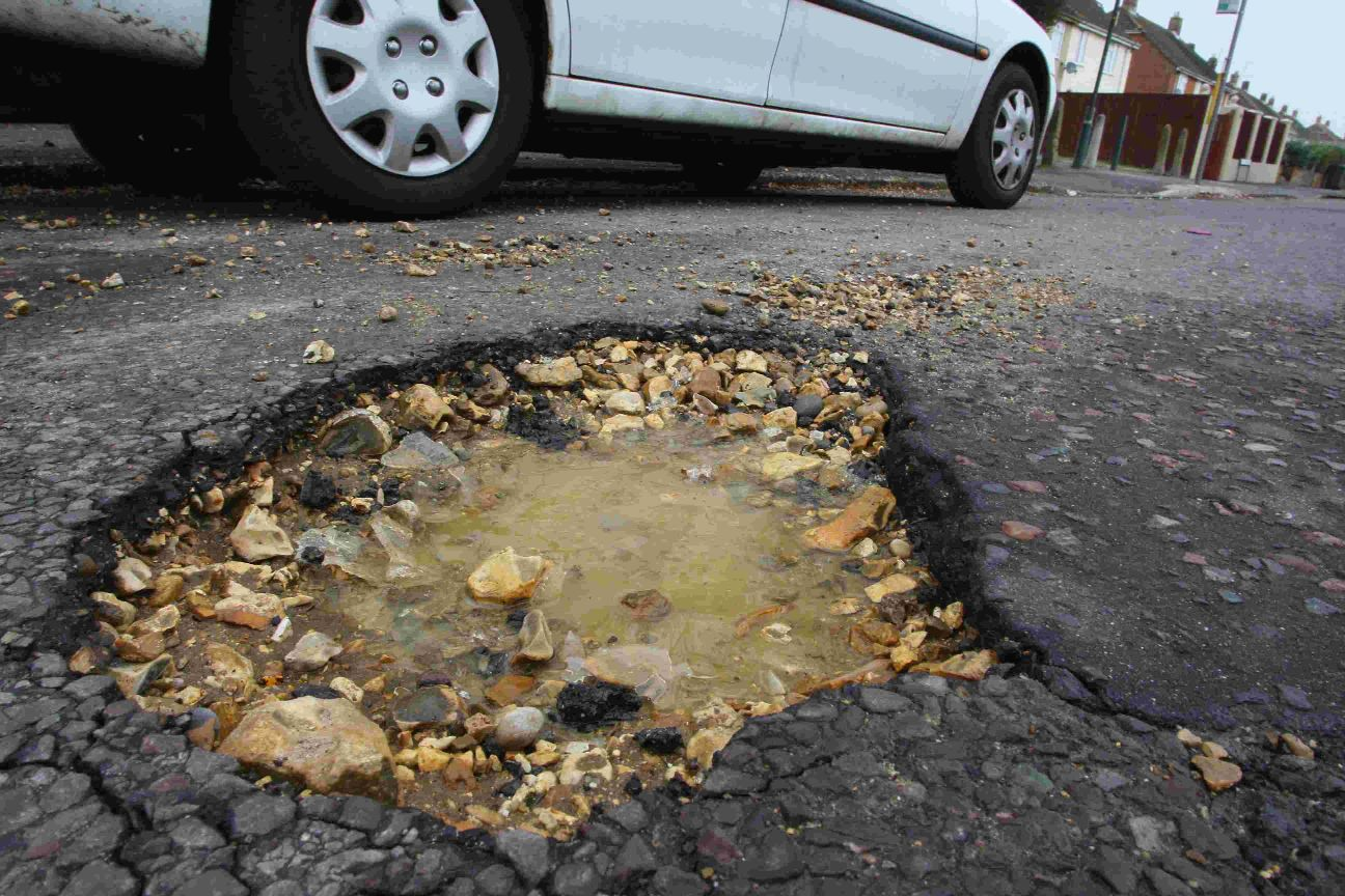 Potholes: The mortal enemy of motortists