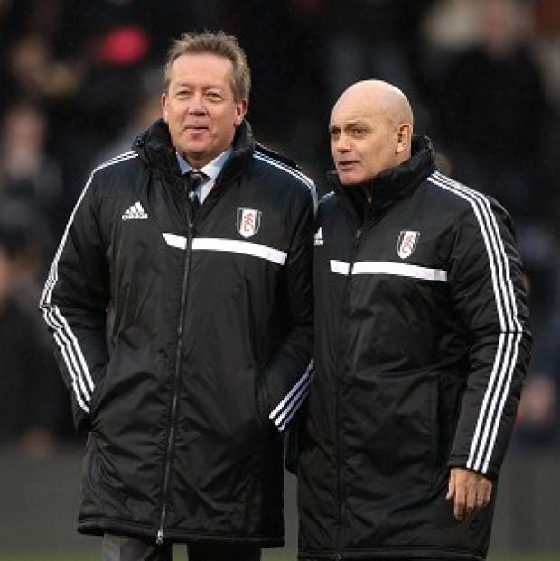 Richmond and Twickenham Times: Alan Curbishley and Ray Wilkins only joined Fulham's fight for survival in December