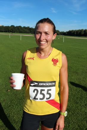 Preparation: Claire Grima is in tip top form in the run up to the London Marathon