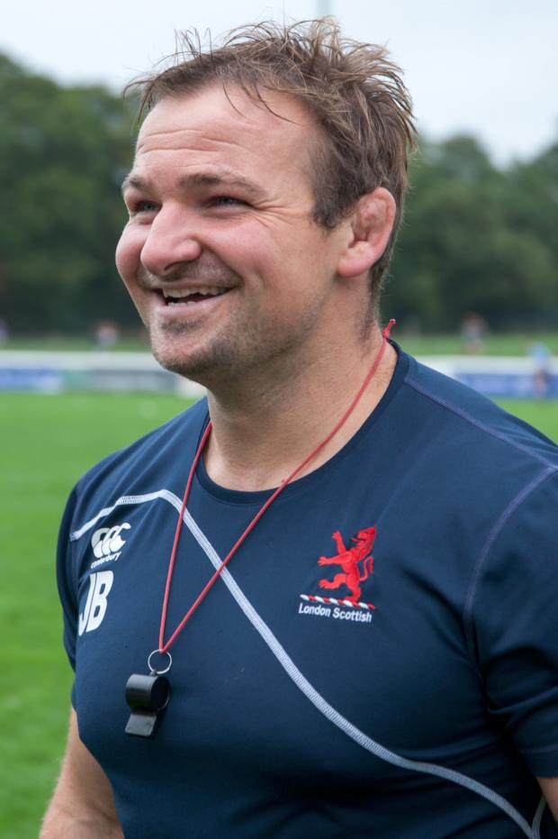 Richmond and Twickenham Times: Happy trails: James Buckland is more than excited about becoming the permanent head coach at London Scottish