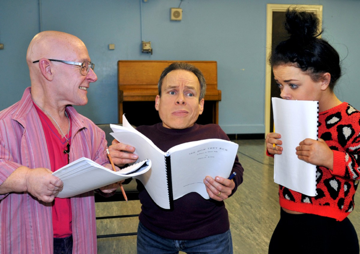 Rehearsals: The Reduced Height Theatre Company