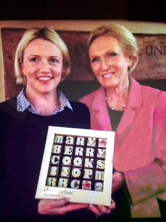 Sweet teeth: Mary Berry and Flo Broughton