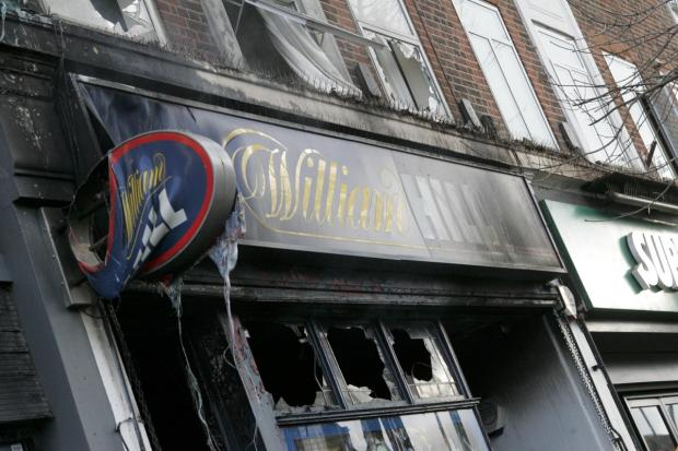 Betting shops: The William Hill in Whitton caught fire