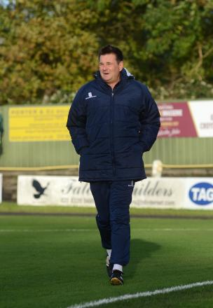 No pressure: Paul Doswell says all the pressure is on United's opponents