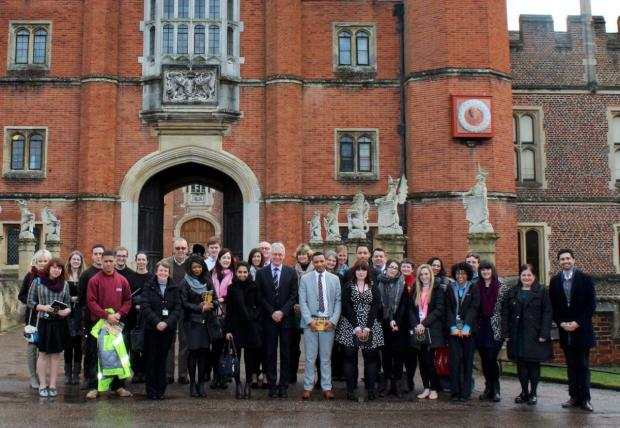 Working for a living: Apprentices learning lots about the palace
