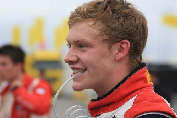 Ready for a fresh start: Twickenham-based racing driver Mitchell Gilbert