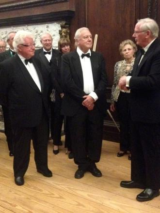 A first: David Attenborough at the Richmonds medal ceremony