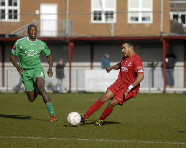 Richmond and Twickenham Times: Gone: Jordan Wilson has left Colston Avenue for Grays Athletic             SP81896