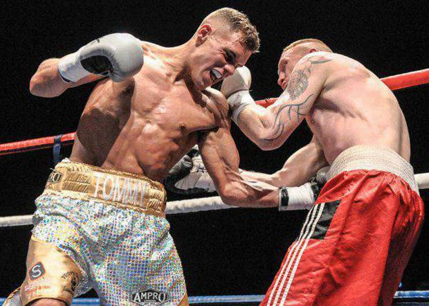 Undefeated: Ricky Boylan scored an 11th pro win on Saturday night