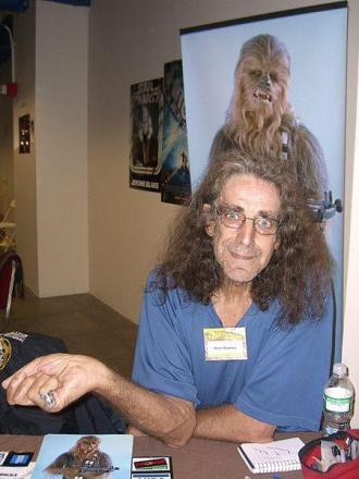 Peter Mayhew at the November 2008 Big Apple Convention in New York. (Picture: Luigi Novi / Wikimedia Commons)