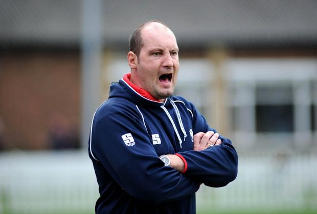 Staying on: Rosslyn Park coach Alex Codling