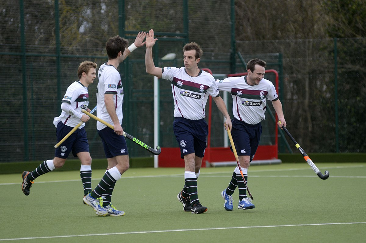 Goal man: Matt Daly, centre, finished the season as the MHL Premier Division's top scorer on 22