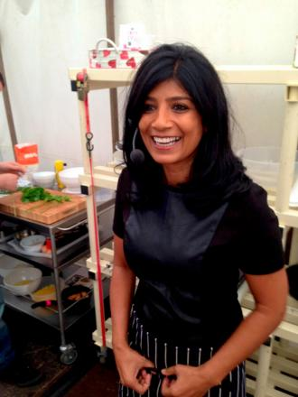 Cooking up a storm: Anjula Devi