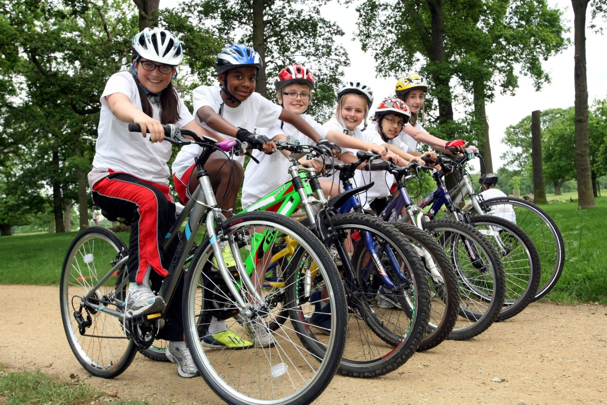 Richmond Park bike event helps youngsters on two wheels