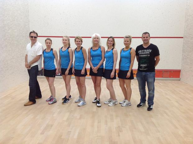 Not quite there: The Colet's women's team were not able to match the exploits of the club's men