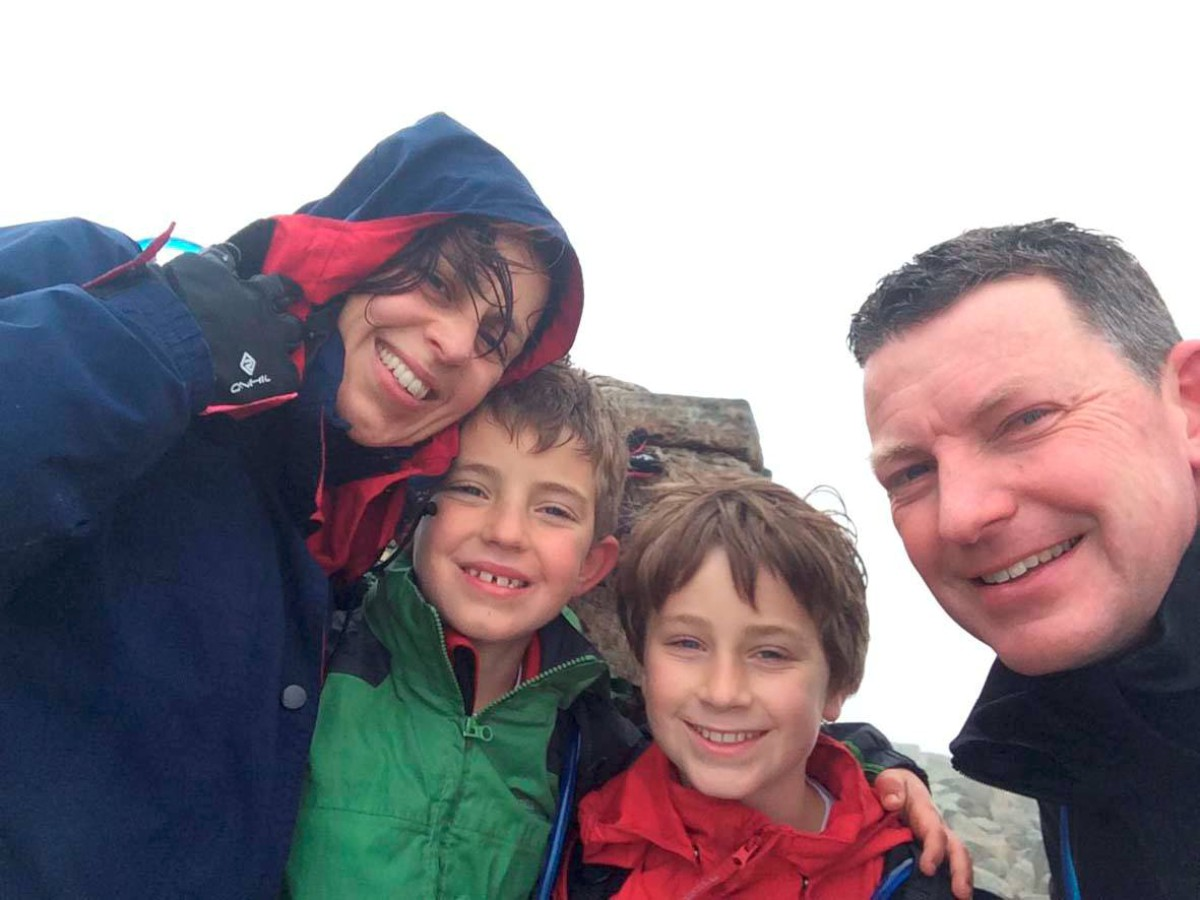 Boy conquers Three Peak Challenge with 22 minutes to spare