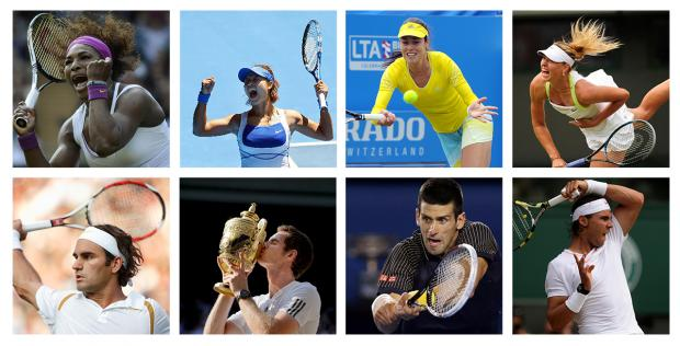 Which tennis star should you support based on your personality? The answer may surprise you...