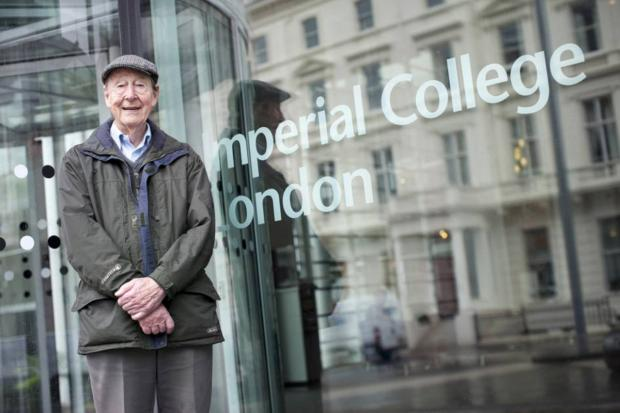 Tom Kibble: Honoured for his monumental work