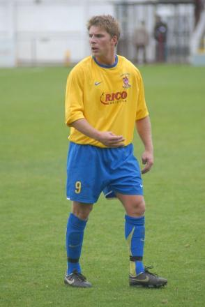 Back in the game: Former Staines Town and AFC Wimbledon striker Richard Butler