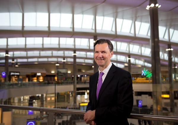 Expansion: John Holland-Kaye has not ruled out a fourth runway. Picture: Heathrow Airports Ltd.