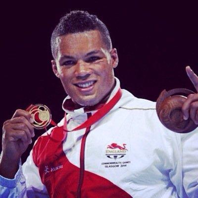 Winner: Joe Joyce proudly displays his Commonwealth Games gold medal