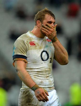 Leading on one front: Chris Robshaw has been relieved of his Harlequins skipper duties to concentrate on his England leadership