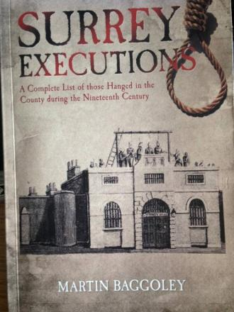 Grim reading: The book looks at many public executions around the area