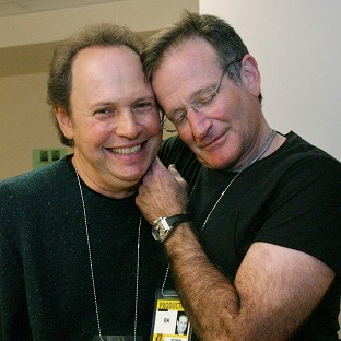 Billy Crystal, left, pictured with Robin Wil