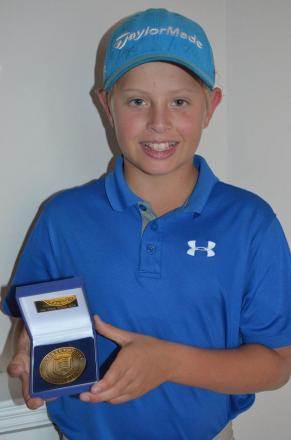 Champion: Fulwell Golf Club's Chad Miller