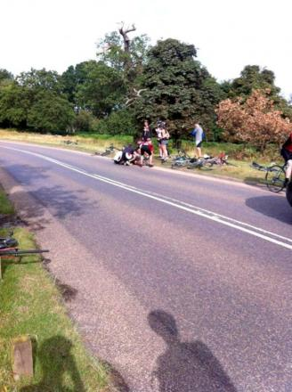 Cycle crash: A friend said Dr Lim had been cycling below the spee