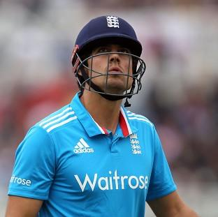 Alastair Cook's side fell to another disappointing d
