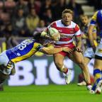 Richmond and Twickenham Times: Josh Charnley among the tries for Wigan