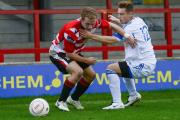 Pulling our socks up: Kingstonian defender Josh Casey says Ks are doing all they can to find top form