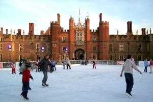 Get your skates on as Hampton Court Palace ice rink returns