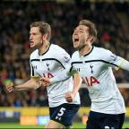 Richmond and Twickenham Times: Christian Eriksen, right, starred for Tottenham