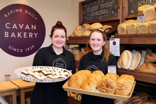 Mercedesz Porge and Sarah Nacmanson at The Cavan Bakery's East Sheen store
