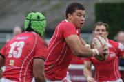 Star quality: London Irish centre Guy Armitage in action during a spell at London Welsh