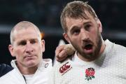 Support is key: Chris Robshaw wants the level of support at Twickenham on Saturday to be replicated come the World Cup