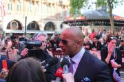Dwayne 'The Rock' Johnson talks to Vibe at World Premiere of San Andreas in London