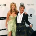 Richmond and Twickenham Times: Penny Lancaster has two sons, Aiden and Alastair, with Rod Stewart