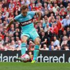 Richmond and Twickenham Times: West Ham captain Mark Noble has had the red card he received against Liverpool rescinded