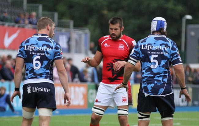 Out for redemption: London Welsh skipper Matt Corker