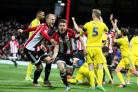 Off the mark: Sergi Canos scored his first goal for Brentford in Saturday's 2-1 win over Nottingham Forest and he followed it up with a double in Monday's friendly win over a Tottenham Hotspur XI