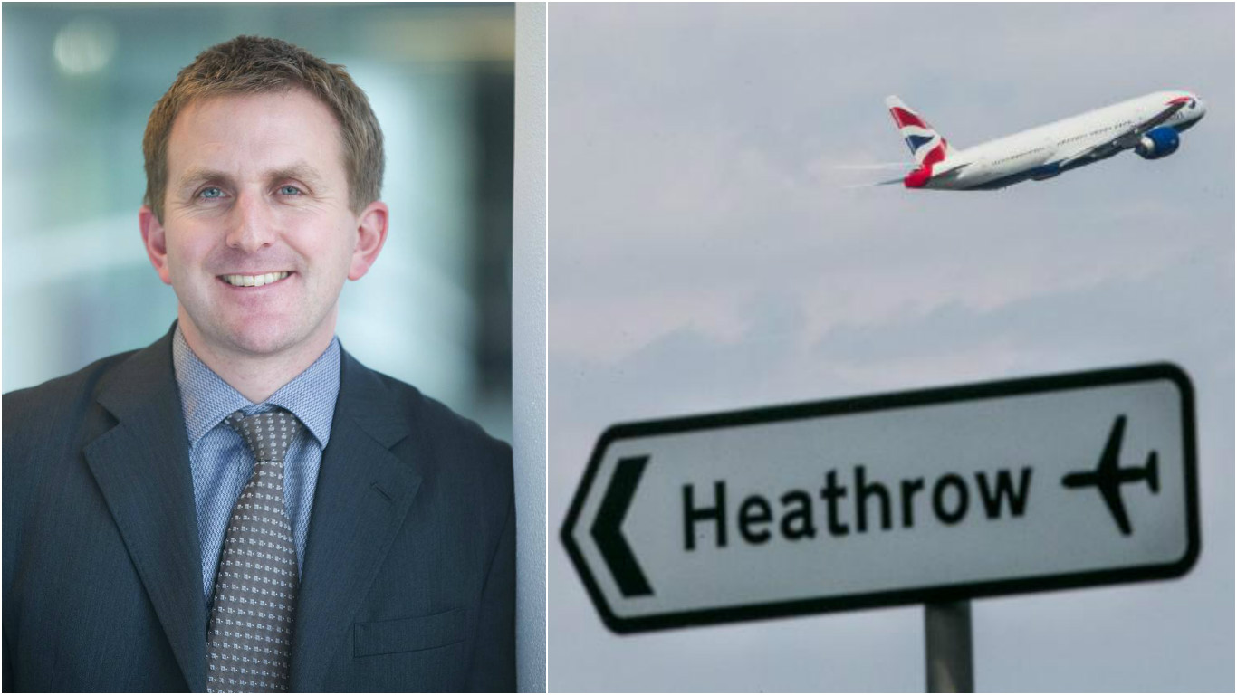 Image result for Heathrow's Director  Matt Gorman