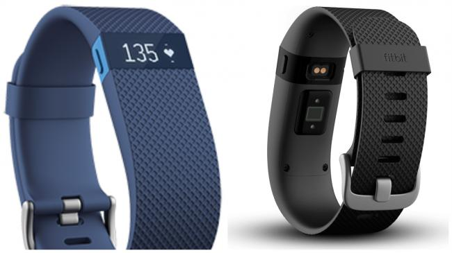 The Fitbit Charge HR activity tracker fits discreetly on the wrist and can measure heart rate