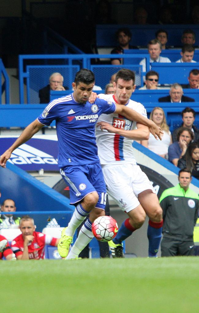 Happy again: Chelsea striker Diego Costa is a new man since the arrival of Guus Hiddink