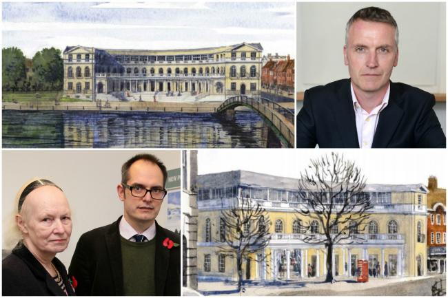 Slammed: Twickenham riverside development proposals have been rejected by residents as Richmond Council revealed consultation results