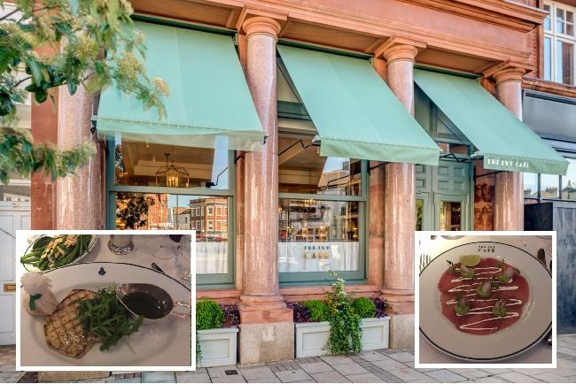 The Ivy Cafe opened in Wimbledon Village on June 1